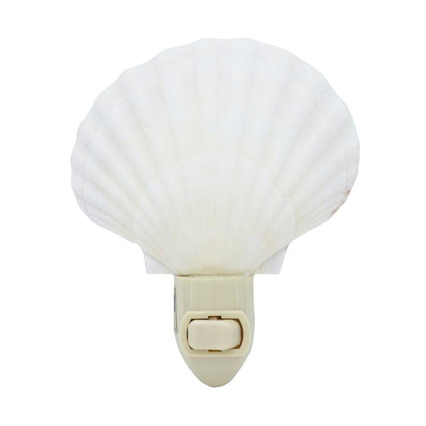 Irish Scallop Sea Shell Night Light Nite Lite at FantaSea Caostal Home beach house decor