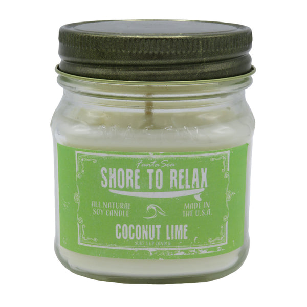 Shore to Relax Candle | Coconut Lime