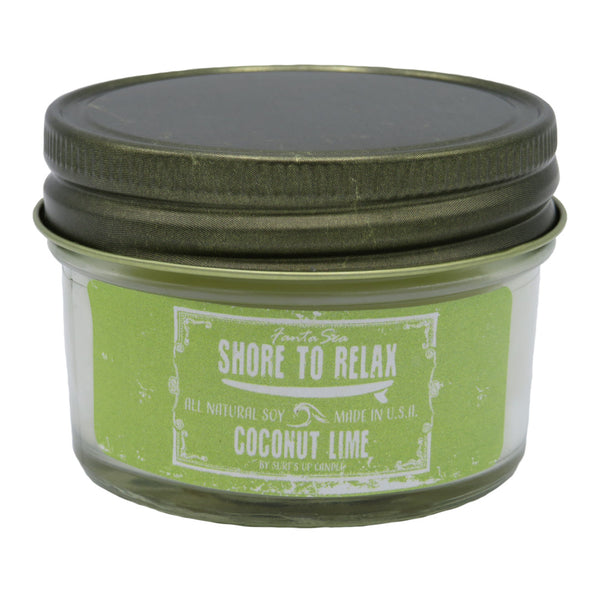 Shore to Relax Candle | Coconut Lime Mini