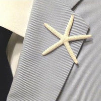 Pencil starfish pin for weddings at FantaSea Coastal Home beach house decor