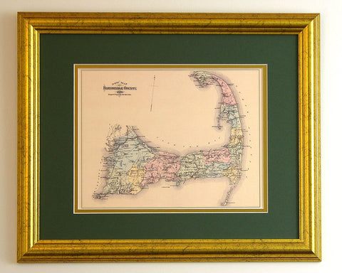 Reproduction Antique Maps of the many and various towns and