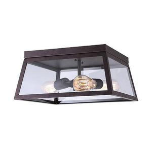 CANARM IFM480A14ORB - 3 LIGHT OIL RUBBED BRONZE FLUSHMOUNT
