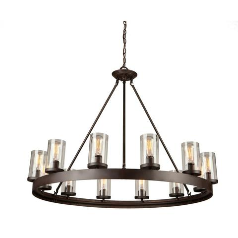 ARTCRAFT AC10002 - 12 LIGHT CHANDELIER