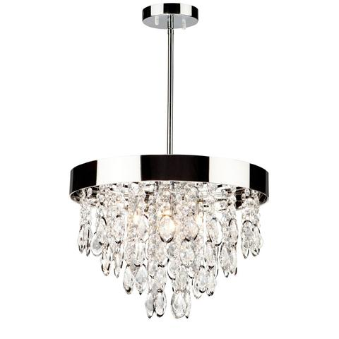 ARTCRAFT AC10111 - 4 LIGHT CHANDELIER