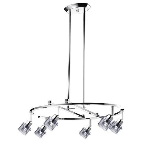 ULEXTRA P316 6 CM - 6 LIGHT CHROME PENDANT