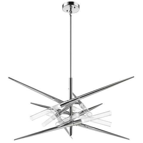 ULEXTRA P373 9 - 9 LIGHT CHROME PENDANT