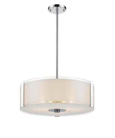 LEVICO LVB3817 CH - 3 LIGHT CHROME PENDANT