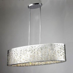 LEVICO LVC8232H CH - 6 LIGHT CHROME CHANDELIER