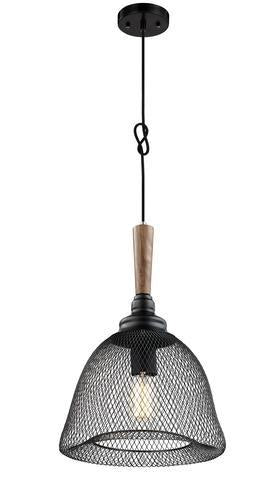 ULEXTRA P432 1L BK - 1 LIGHT PENDANT