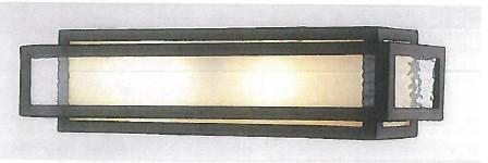LEVICO LVGT702W - 2 LIGHT BRONZE VANITY BAR