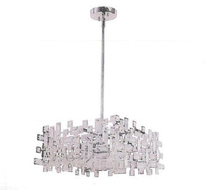 AVISTA A3358 7 - 8 LIGHT CHROME MULTI PENDANT