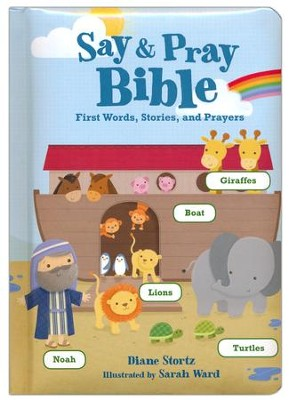 Say and Pray Bible Boardbook