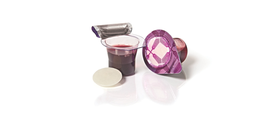 Fellowship Cup - Prefilled communion cups – juice and wafer – 250 Count Box