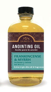 Anointing Oil, Frankincense and Myrrh (8 ounce)
