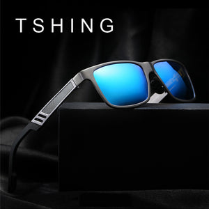 Men's Aluminium Polarised sunglasses