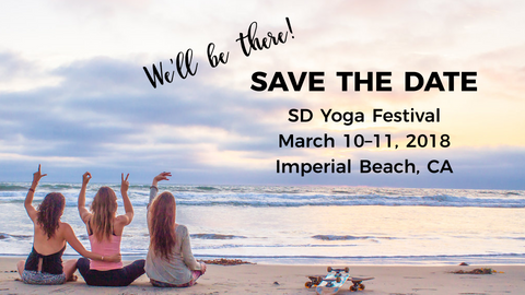Love Tee at SD Yoga Festival March 2018
