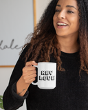 Hey Love: 15oz. Coffee Mug - Love Tee
