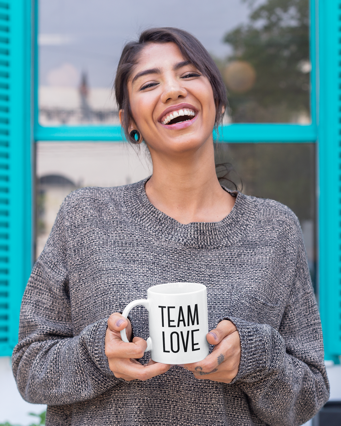 Team Love: 15oz. Coffee Mug - Love Tee