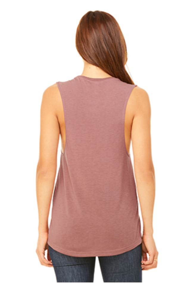 Just Love - Women's Flowy Muscle Tee (2 colors) - Love Tee