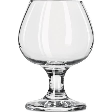 Libbey Embassy Brandy Glasses, 5 1/2 oz, Clear (Box of 12)