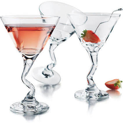 John Artis 27cl Z Stem Martini Cocktail Glass (Box of 12)
