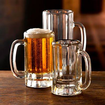 Paneled Beer Mugs 36cl (Box of 12)