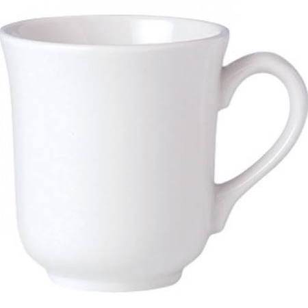 Steelite Simplicity White Mugs 285ml V0178 (Box of 36)