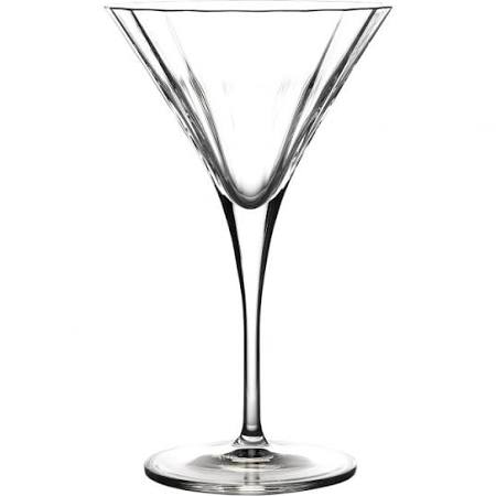 Luigi Bormioli 26cl Bach Crystal Martini Cocktail Glass (Box of 16)
