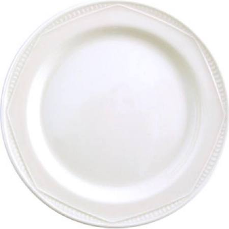Steelite Monte Carlo White Plates 202mm V3737 (Box of 24)