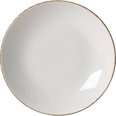 Steelite Brown Dapple Coupe Plates 300mm (Box of 12)