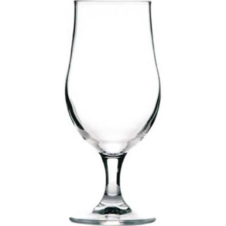 Munique Stemmed Beer Glass 13oz Lined 2/3 Pint CE (Box of 12)