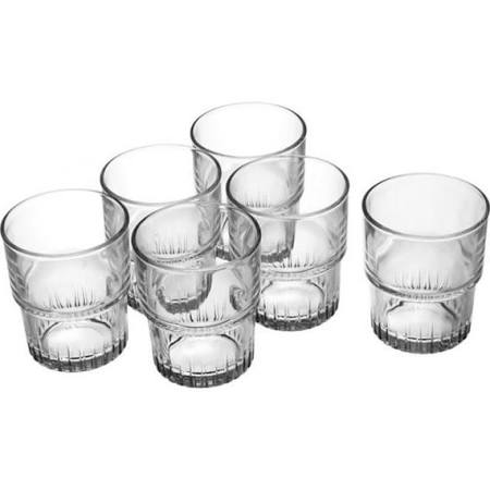 Duralex empilable Fluted Tumbler Glass 5oz (Box of 72)