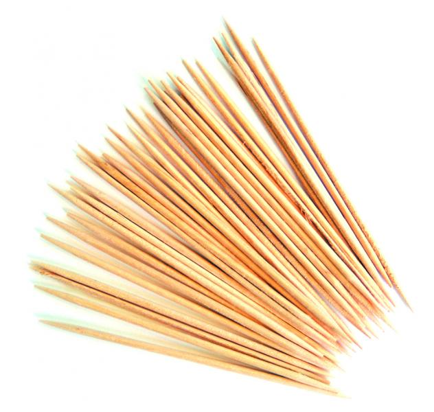 Wooden Cocktail Sticks PK1000
