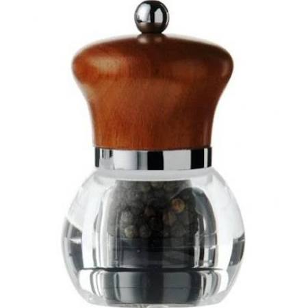Artis Orbit Dark Wood Pepper Mill (Box of 6)