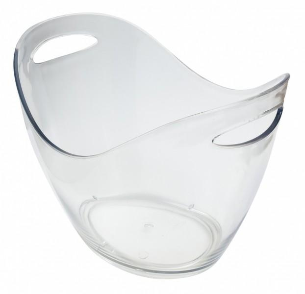 Clear Plastic Wine/Champagne Cooler 8Ltr