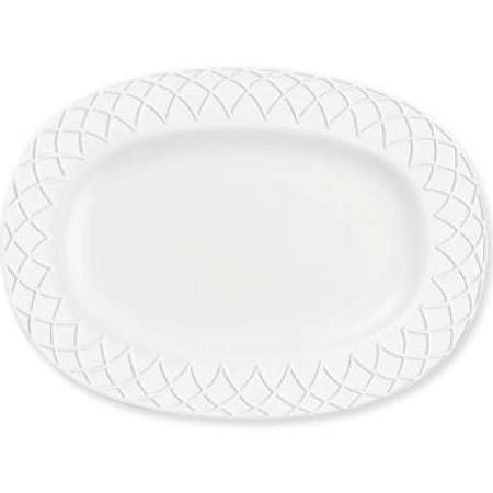Churchill Alchemy Jardin Rimmed Oval Dishes 280mm Y621 (Box of 6)