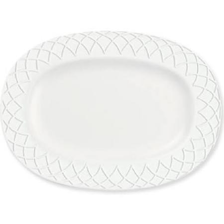 Churchill Alchemy Jardin Rimmed Oval Dishes 207mm Y620 (Box of 12)