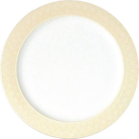 Churchill Alchemy Spin Cream Serving Plates 330mm - CA002 (Box of 6)