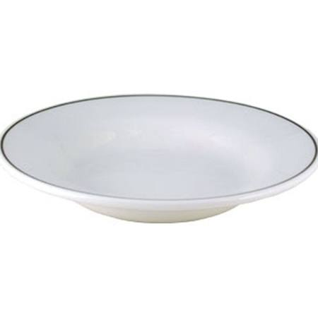 Churchill Black Line Rimmed Soup Bowls 230mm - P694 (Box of 4)