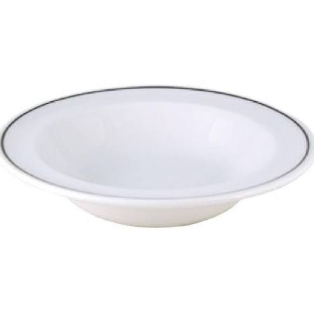 Churchill Black Line Rimmed Fruit Bowls 160mm (Box of 24)