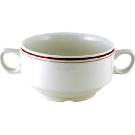Churchill Nova Clyde Handled Soup Bowls 398ml M055 (Box of 24)
