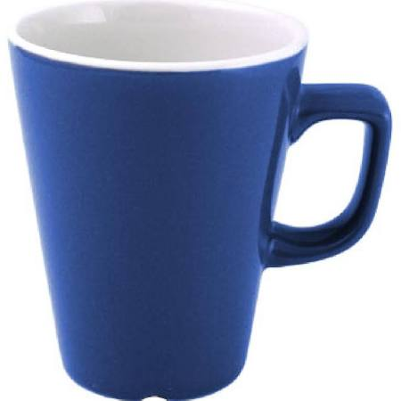 Churchill New Horizons Colour Glaze Cafe Latte Mugs Blue 340ml W892 (Box of 12)
