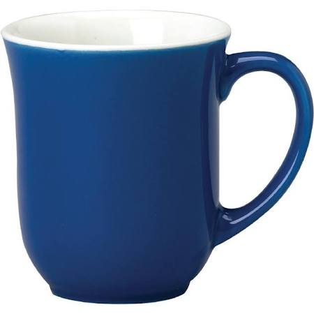 Churchill New Horizons Colour Glaze Elegant Mugs Blue 284ml M823 (Box of 24)