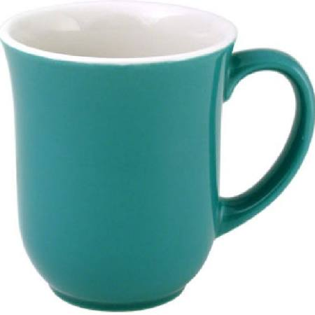 Churchill New Horizons Colour Glaze Elegant Mugs Green 284ml M824 (Box of 24)