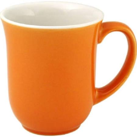 Churchill New Horizons Colour Glaze Elegant Mugs Orange 284ml M825 (Box of 24)