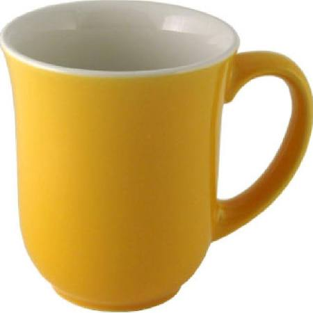 Churchill New Horizons Colour Glaze Elegant Mugs Yellow 284ml M826 (Box of 24)