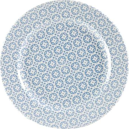 Churchill Moresque Prints Plate Blue 305mm (Box of 12)