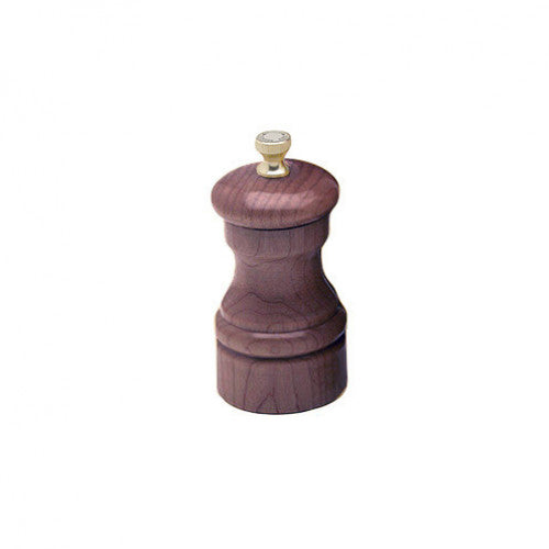 Chef Specialties 10cm Capstan Walnut Salt Mill