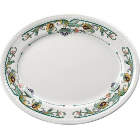 Churchill Buckingham Sumatra Oval Platters 202mm - M500 (Box of 12)