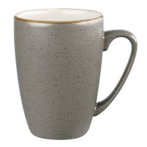 Churchill Stonecast Peppercorn Mug 12oz / 340ml x 12 Rustic Coffee Mug (Box of 12)